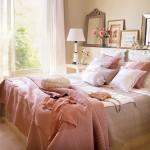 03-amenajare dormitor stil romantic francez in nuante de roz pastel
