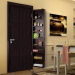 Depozitarea in spatiile mici – dulapul care se monteaza pe usa