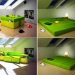 Multiplo – mobilier multifunctional modular pentru spatii mici