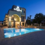 1-Villa Anthelion exterior cu piscina cazare Grecia Thassos
