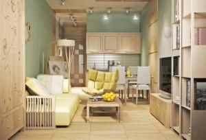 Imagini cu exemple de amenajare a apartamentelor mici