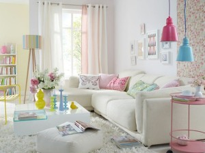 1-accente colorate pastelate decor living modern amenajat in alb