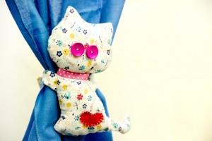 1-accesoriu decorativ DIY pentru prinderea perdelelor si draperiilor