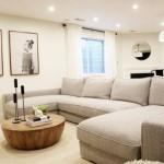 1-amenajare living modern cu canapea in forma literei U