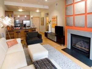 1-amenajare living open space cu bucatarie lung si ingust