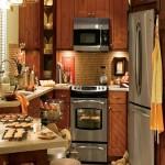 1-amenajare si decorare bucatarie foarte mica si compacta