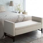 5 idei de amenajare a spatiului de la picioarele patului din dormitor