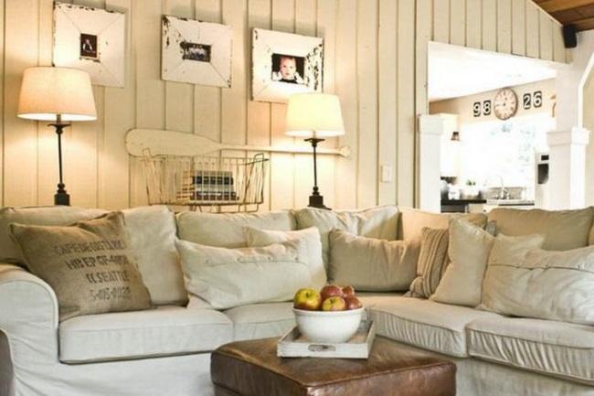 1-amenajare vintage living decorat in alb si diferite nuante de alb
