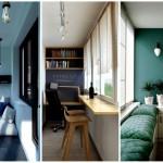 1-amenajarea unui balcon ingust si mic intr-un mod relaxant si frumos