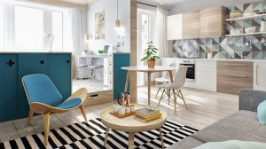 1-apartament modern 2 camere 41 mp INT2 Architecture