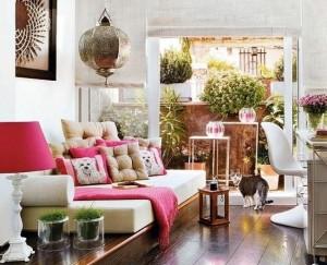 1-apartament modern colorat si cu accente marocane