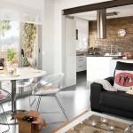 1-apartament modern si luminos cu accente industriale
