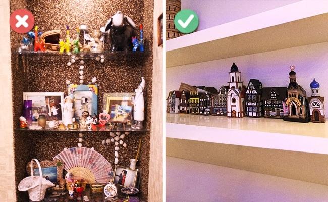 1-aranjarea suvenirurilor si micilor decoratiuni