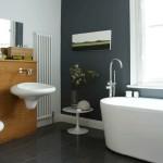 1-baie moderna minimalista pereti zugraviti cu lavabila alba si gri inchis