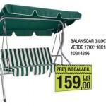 1-balansoar metalic verde 3 locuri magazin Leroy Merlin