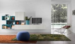 1-biblioteca living Loft design modern magazin Nuvola