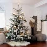 12 idei decorative pentru un Craciun alb