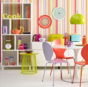 1-bucatarie vesela si energizanta cu multe accesorii colorate