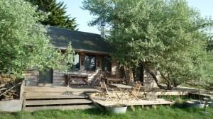 1-cabana din lemn de pin 70 mp construita in regie proprie