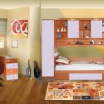 5 seturi de mobilier pentru camera de tineret