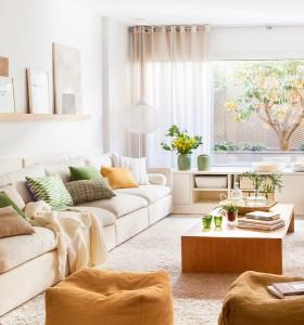 Un apartament insorit cu o superba terasa