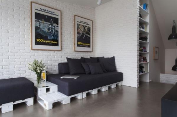1-canapea design modern din paleti lemn mobila living