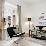 1-canapea si fotoliu living apartament 2 camere 33 mp