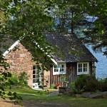 1-casa frumoasa din piatra si din lemn Scotia