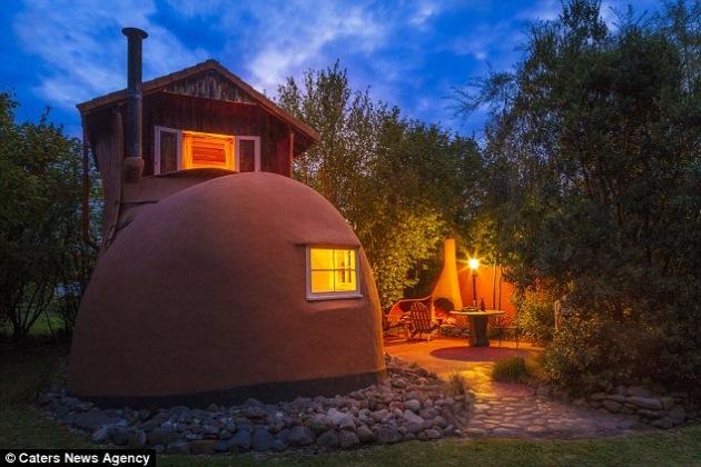 1-casa in forma de gheata noua zeelanda