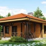 6 proiecte de case mici, fara etaj, cu doua sau trei dormitoare