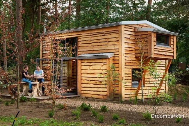 1-casa mica din lemn DroomParken Village Olanda