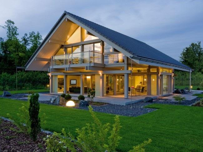 1-casa moderna pe structura metalica cu mansarda