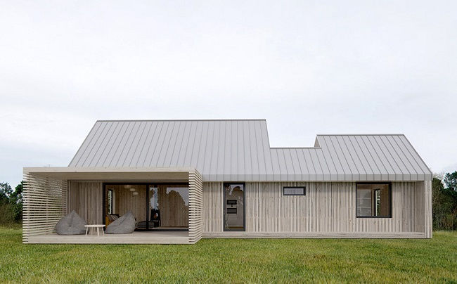 1-casa modulara prefabricata Plusmodul de 68 mp
