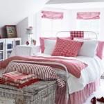 1-casa vintage amenajata si decorata in alb si rosu