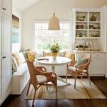 Coltar sau canapea? Ce alegem pentru mobilierul de bucatarie? IDEI