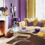 Ultra Violet – culoarea anului 2018 in amenajarile interioare