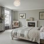 1-comoda alba cu sertare amenajare dormitor scandinav