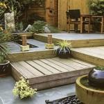 1-constructie terase din lemn pe mai multe nivele curte mica