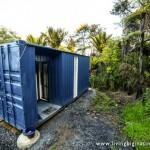 1-container industrial maritim de 6 metri lungime transformat in locuinta moderna compacta