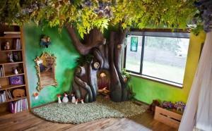1-copac artificial din beton armat construit in camera unei fetite
