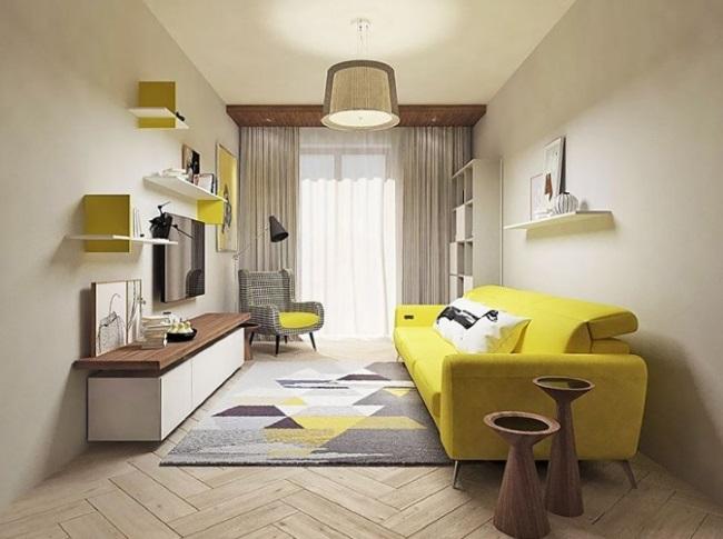 1-corectare vizuala camera lunga si ingusta cu ajutorul culorilor