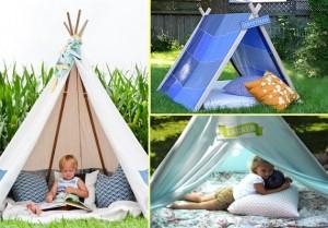 1-corturi de joaca pentru copii in curtea casei