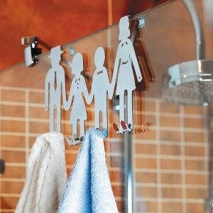 1-cuier pentru agatat prosoapele din baie