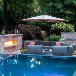 1-curte mare si frumoasa piscina flori si piatra naturala