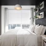 1-decor dormitor mic pereti gri foarte inchis mobila alba