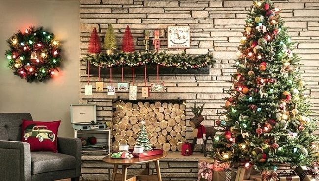 1-decorare casa si brad Craciun tendinte 2018