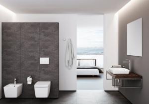 1-design baie moderna minimalista wc si bideu suspendate