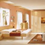 1-dormitor modern culoarea piersicii