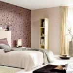 Iata cum iti poti infrumuseta dormitorul cu tapet decorativ