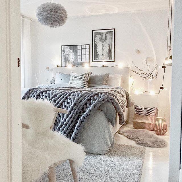 1-dormitor stil scandinav mic romantic in nuante de gri